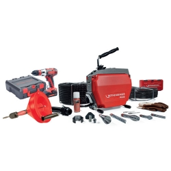 Stroj Za Čišćenje Odvoda R600 +Aku Odvijač Zavrtač Rothenberger
