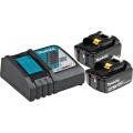 Set Baterija I Punjač Makita Li-ion 2x18v 5,0AH BL1850B + Punjač DC18RC Karton