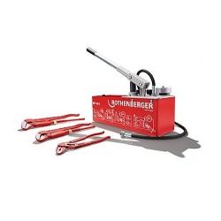 Pumpa Za Ispitivanje Tlaka u Cijevima RP50-S Rothenberger 0-60bar 8kg 12l+Kliješ