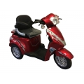 Elektro Tricikl na Baterije T408 1000W 60V 20Ah Crveni