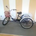 """Elektro Tricikl na Baterije 24"""" FY071E s 2 Košare"""