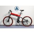 Električni Elektro bicikl alu FY056 CRVENI PREKLOPIVI MTB