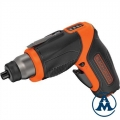 Black&Decker Aku Odvijač CS3653LC Li-ion 3,6V 1,5Ah
