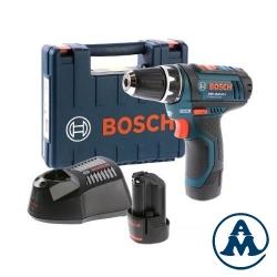 Bosch Bušilica Odvijač Aku GSR 12V-15 Li-ion 2x12V 2,0Ah 30Nm + Kofer