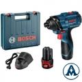 Bosch Odvijač Udarni Aku GDR 120-Li Li-ion 2x12V 1,5Ah 100Nm + Kofer