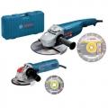 Bosch Set Kutne Brusilice GWS 22-230 JH + GWS 750-125 + Dijamantna Ploča 2/1