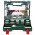 Set svrdla i bitova s izvijačem 91-dijelni V-Line TiN Bosch