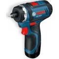 Bosch Aku Odvijač Izvijač GSR 10,8-Li Li-ion 2x10,8V 2,0Ah 30Nm L-Boxx 0601992909