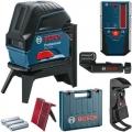 Bosch Nivelir Laserski Kombinirani GCL 2-50 + Prijemnik LR6 50m + RM 1 + BM 3 + Kofer