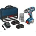 Bosch Bušilica-odvijač Aku GSR 18-2-LI Plus 3 baterije