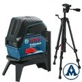 Bosch Nivelir Laserski Križni GCL 2-15 + Stativ BS 150