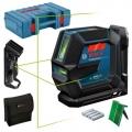 Bosch Nivelir Laserski Križni GLL 2-15 G 4xAA + SH DK10 + Držač LB10 + CP + Kofer