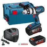 Aku Udarna Bušilica - Odvijač Bosch GSB 36 VE-2-LI Li-ion 2x36V 4,0Ah 100Nm + L-boxx
