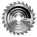 List kružne pile 165x30x2,6/1,6mmx24Z  Bosch ATB Optiline