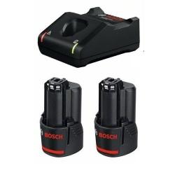 Set Baterija i Punjač Li-ion 2x12V 2,0Ah GBA 12V + GAL 12V-40 Bosch