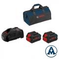 Bosch Set Baterija i Punjač ProCORE 2x18V 8.0Ah + GAL 1880 CV + Torba