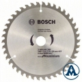 List kružne pile 160x20x2,0 /1,4mm 42Z TCG ECO za Aluminij Bosch