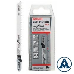 Bosch List Ubodne Pile T101BR 100x74mm Drvo/Čisti rez 25/1