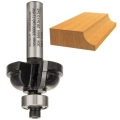 Glodalo Profilno 8x54/13,5x28,5mm R6,3 Dvorezno Tip F Bosch
