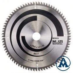 Bosch List Kružne Pile 254x30x80Z Multimaterial