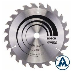 List Kružne Pile 160x20/16x24Z ATB Optiline Bosch