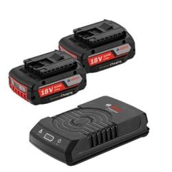 Set Baterija i Punjač Bosch Li-ion 2x18V 2,0Ah + GAL 1830W-DC Wireless