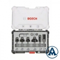 Bosch Set Glodala za Ravnanje Rubova prihvat 8mm 6/1