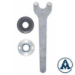 Bosch Set Matica + Prirubnica + Ključ Za Male Kutne Brusilica 3/1