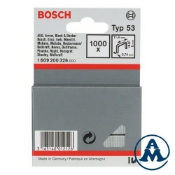 Spojnica Klamerice 11,4x6x0,74mm TIP 53 1000/1 Bosch