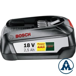 Baterija Li-ion 18V 2,5Ah Bosch Zeleni PBA