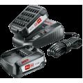Bosch Set Baterija i Punjač Li-ion 2x18V 2,5Ah + AL1830CV