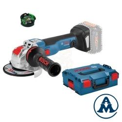 Bosch Aku Kutna Brusilica GWX 18V-10 SC Li-ion BB 125mm X-Lock + GCY 30-4 + L-boxx