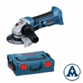Aku Brusilica Kutna Bosch GWS 18-125 V-Li Bez Baterije i Punjača Li-ion 18V 125mm + L-Boxx