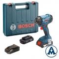 Bosch Aku Udarni Odvijač GDR 180-LI Li-ion 2x18V 3,0Ah 160Nm