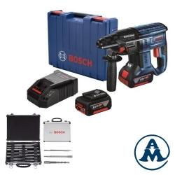 Aku Bušaći Čekić Bosch GBH 180-LI Li-ion 2x18V 4,0Ah 1,7J SDS-Plus + Pribor