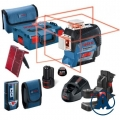Bosch Nivelir Laserski Križni GLL 3-80 C Li-ion 12V 2,0Ah + Punjač + BM1 + LR7 + L-boxx