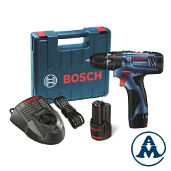 Bosch Aku Udarna Bušilica - Odvijač GSB 120-LI Li-ion 2x12V 1,5Ah + Kofer