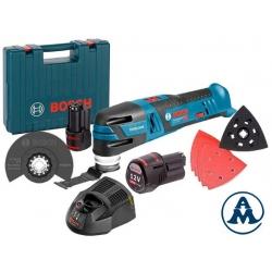 Bosch Aku Multimaster Višenamjenski Alat GOP 12V-28 2x12V 2.0Ah 0,81kg + Kofer