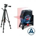 Bosch Nivelir Križni Laser GCL 2-50 C + Nosač RM2 + Stativ BT 150