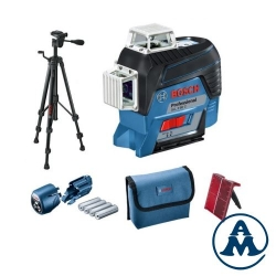 Bosch Nivelir Laserski Križni GLL 3-80 C Li-ion 12V 4x1,5V + BT150