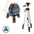 Bosch Nivelir Laserski Križni GLL 3-50 + Stativ BS 150