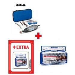 Dremel Višenamjenski Alat 3000 + 15-dijelni Set Pribora+ EZ SC 690 Set pribora za rezanje