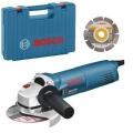 Bosch Kutna Brusilica GWS 1400 1400W 125mm + Dijamantna Ploča + Kofer