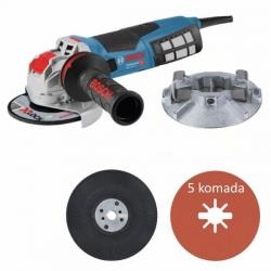 Bosch Kutna Brusilica GWX 19-125S 1900W 125mm + Fiber Disk 5/1 + Nosač