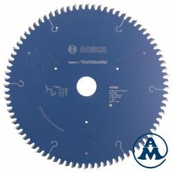 List Kružne Pile 254x30 x2,4mm x80Z Expert Multimaterial Bosch