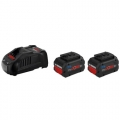 Bosch Set Baterija i Punjač Li-ion 2x18V 5,5Ah + GAL 1880CV