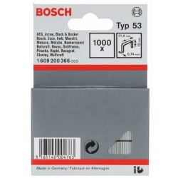 Spojnica Klamerice 11,4x10x0,74mm TIP 53 1000/1 Bosch