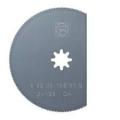 LIST PILE SEGMENT HSS 80mm DRVO/PVC/ALU 1/1 MULTIMASTER FEIN 63502106015