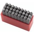 Slova za označavanje udarcem Fervi P012/L04 A-Z 4mm 7x7x61h mm