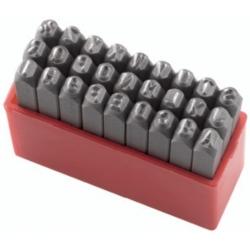 Slova za označavanje udarcem Fervi P012/L06 A-Z 6mm 8.8x8.8x63h mm